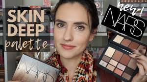 new nars skin deep palette swatches