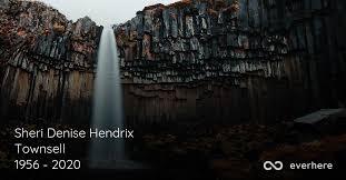 Sheri Denise Hendrix Townsell Obituary (1956 - 2020) | Silver Creek, Georgia