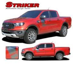 2019 2020 Ford Ranger Body Stripes Striker Side Door Vinyl Graphics Decals Kit Ebay