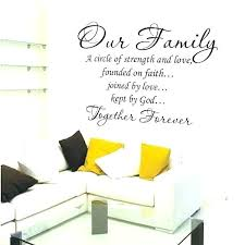 family quotes for wall decor co