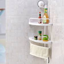 2 layers wall mounted plastic bathroom