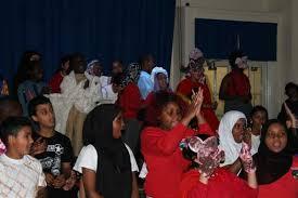 Children at Byron Wood 'Magic Key' performance