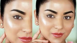 glowing dewy makeup tutorial