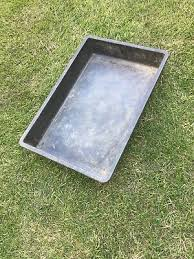 square garden tray plant pot watering