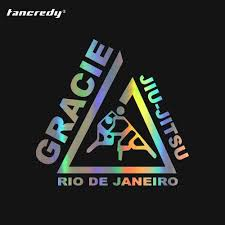 Tancredy 3d Sticker 11 5 11cm Funny Jiu Jitsu Gracie Rio De Janeiro Decals Motocycle Accessories Full Body Car Stickers For Car Full Body Car Sticker Car Stickercar Body Sticker Aliexpress