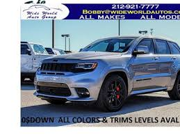jeep grand cherokee srt lease deals