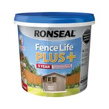 Ronseal Fence Life Plus Warm Stone Matt Fence Shed Wood Treatment 5l Departments Diy At B Q