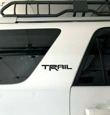 4runner Trail Sticker Decal Toyota 4 Runner Sr5 Red White Black 3 5 8 10 Xo In 2020 4runner Toyota 4 Toyota