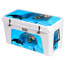 Yeti Cooler Skins Mightyskins Skin Compatible With Tundra 110 Qt Wrap Cover Sticker Dolphin Sold By Outdoor Gear Roadie Custom Expocafeperu Com