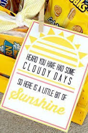 basket of sunshine and free printable