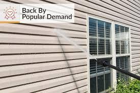 diy tips for power washing house siding