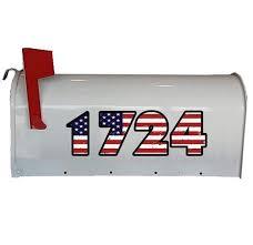 Custom Mailbox Decals Vinyl Mailbox Decals Mailbox Decal