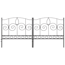 decorative garden fence for landscaping