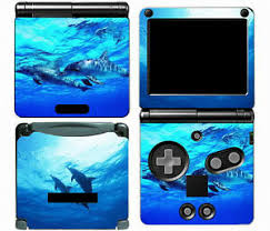 Dolphins 012 Vinyl Decal Skin Cover Sticker For Game Boy Advance Gba Sp 707948349016 Ebay