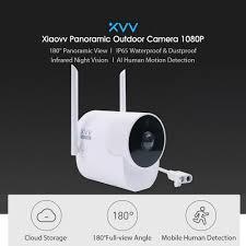 Camera Giám Sát An Ninh Góc Rộng Toàn Cảnh Chống Nước Xiaomi Youpin XVV  1080P FHD