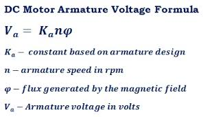 ar vole dc motor calculator