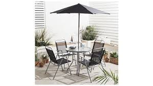 6 piece hawaii garden furniture set for