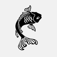 2020 10cm 17 2cm Vinyl Decal Goldfish Koi Fish Car Window Aquarium Fish Car Sticker From Xymy797 4 43 Dhgate Com