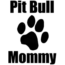 12cm 16cm Pit Bull Mommy With Paw Print Dog Pet Animal Pitt Personalized Vinyl Decal Car Sticker Black Sliver C8 0051 Mommy Mommy Totemommy Necklace Aliexpress