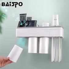 baispo magnetic adsorption toothbrush