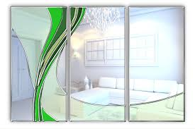 handcrafted triptych coloured glass