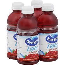 ocean spray light cranberry juice 4