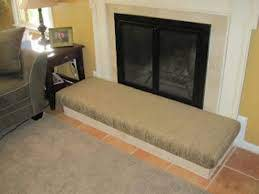 make your own fireplace hearth cushion