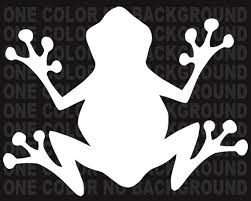 2 Tree Frog Decals Stickers Bogo For Car Truck Bumper Window Etsy