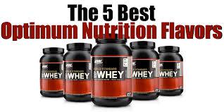 the 5 best optimum nutrition flavors