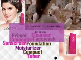 lakme 9to5 makeup range makeupamat