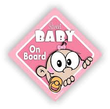 Personalized Baby On Board Car Decal Kids Car Sticker Girls Car Signs Cd21 Personalized Baby Car Girls Car Decals
