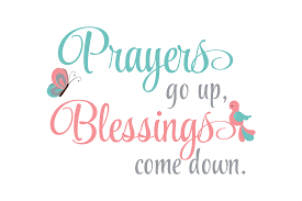 Prayers Go Up Blessings Come Down Svg Graphic By Am Digital Designs Creative Fabrica
