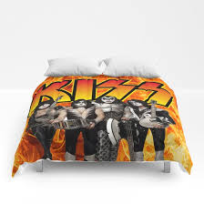 kiss band comforters by thedevilhimself