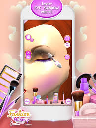 fashion makeup salon games 3d