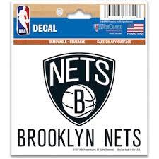 Brooklyn Nets Car Decals Decal Sets Nets Car Decal Lids Com