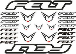 Intense Bicycle Frame Decal Sticker Road Mtb Adhesive Set Vinyl Sheet 12 Pcs Decals Stickers