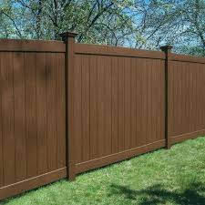 Freedom Ready To Assemble Bolton 6 Ft H X 8 Ft W Saddle Vinyl Flat Top Fence Panel In The Vinyl Fence Panels Department At Lowes Com