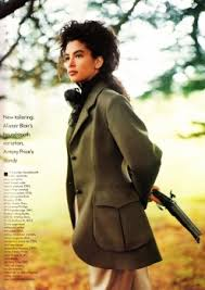 UK Vogue August 1988 : Tully Jensen by Herb Ritts | the Fashion Spot