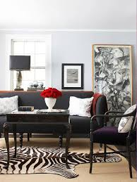 decorate around your charcoal sofa