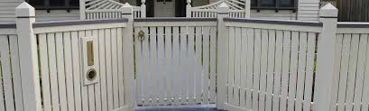 Picketed Steel Frame Gate Picket Fences