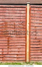 Modern Fence Panel Garden Stock Photo Edit Now 212972254