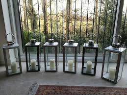 indoor outdoor lanterns 6 large metal