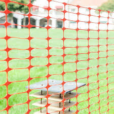 4ft H X 100 Ft W Guardian Safety Netting Snow Fencing Abba Patio