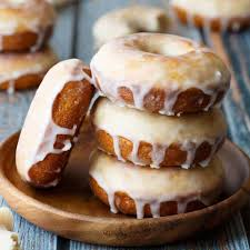 old fashioned baked donuts baked by