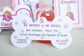Invitaciones Patrulla Canina Merbo Events