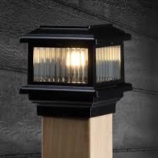 Low Voltage Post Cap Lighting Decksdirect Led Deck Lighting Deck Lighting Deck Post Lights