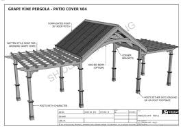 g vine outdoor pergola patio