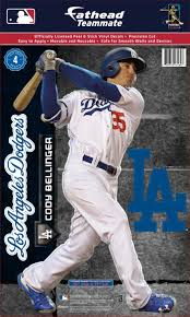 Fathead Los Angeles Dodgers Cody Bellinger Teammate Wall Decal Dick S Sporting Goods