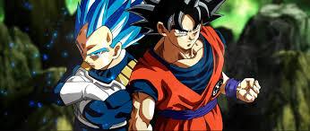 dbs ultra blue vegeta and ultra goku