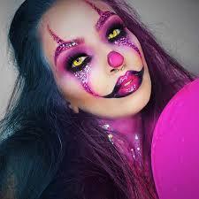 pink clown makeup for clown